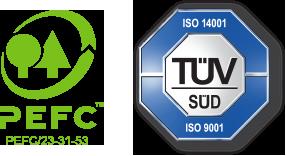 PEFC ST 2002:2013, EN ISSO 14001:2015